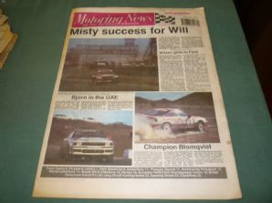 MOTORING NEWS 1989 December 6 Rallycross GP MG 6R4, Rallysprint,Karting review